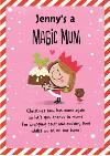 Dib Dab Magic Mum Christmas Card