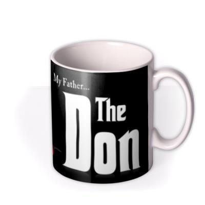 The Godfather, The Don Photo Upload Mug