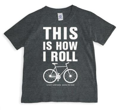 How I Roll Bicycle Personalised T-shirt