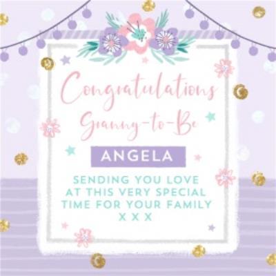 Granny-To-Be Congratulations Card