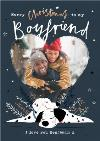 Disney 101 Dalmatians Boyfriend Photo Upload Christmas Card