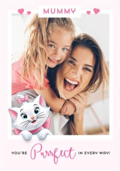 Disney The Aristocats You're Purrfect Mummy Mother's Day Photo Card