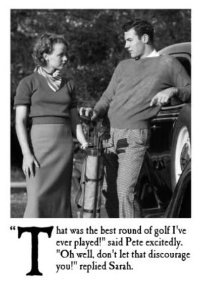 The Best Round Of Golf I've Ever Played Personalised Birthday Card