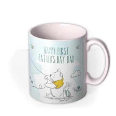 Father's Day Winnie The Pooh Photo Upload Mug