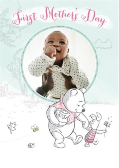 First Mother's Day Photo Card
