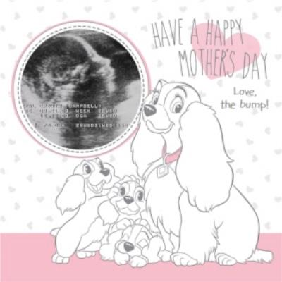 Lady And The Tramp Mothers Day Photo Card