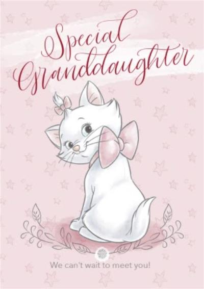 Disney Aristocats - Cute Granddaughter new baby card