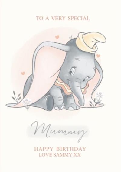 Disney Dumbo Very Special Mummy Birthday Card