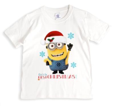 Despicable Me Minion Best Christmas Helper T-Shirt