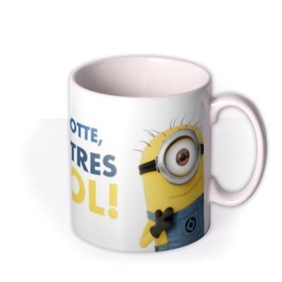 Despicable Me Minion Personalised Tres Cool Mug