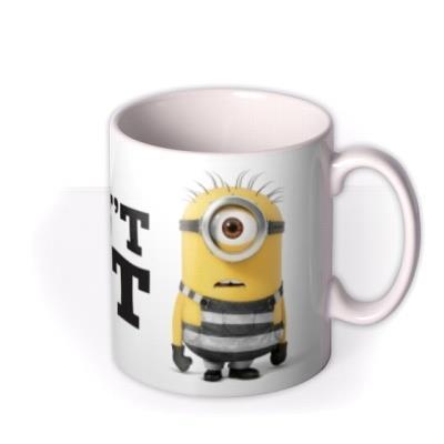 Despicable Me Minion I Didn't Do It Funny Mug