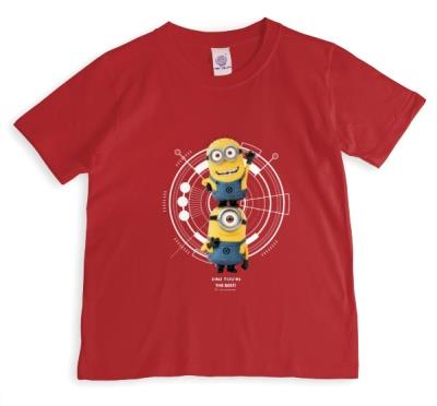 Despicable Me Minions Best Dad Red T-Shirt