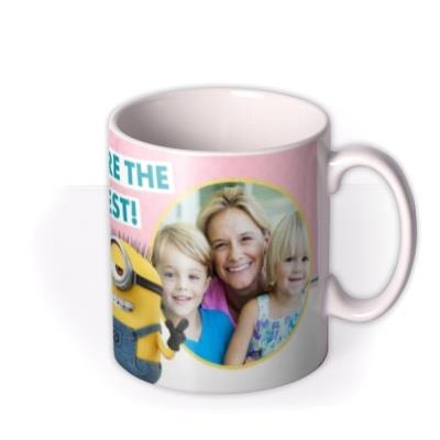 Mother's Day mug - Mum - Minions - despicable Me - photo upload