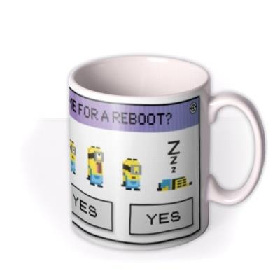 Despicable Me Minions Time For A Reboot Mug