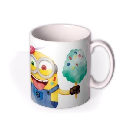 Despicable Me Minions Powered by Coffee Sweetness and Mayhem Mug