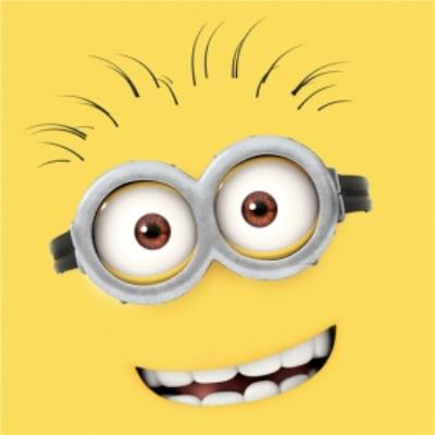 Birthday Cards - Minion's - Despicable Me