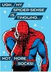 Christmas Card - Marvel - Spiderman