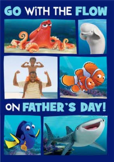 Finding Dory Father's Day card Go with the flow