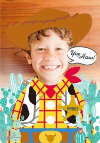 Disney Toy Story Woody Photo Upload Card