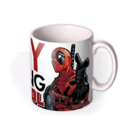 Deadpool Marvel funny humour comedy busy looking deadcool mug
