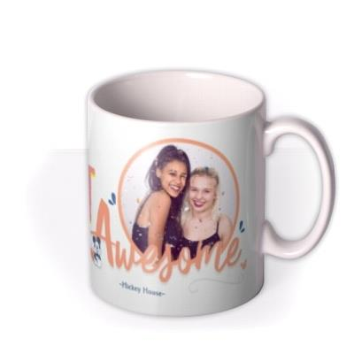 Don't Forget To Be Awesome Personalised Photo Upload Mug