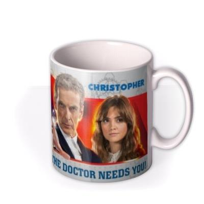 Doctor Who Needs You Photo Upload Mug