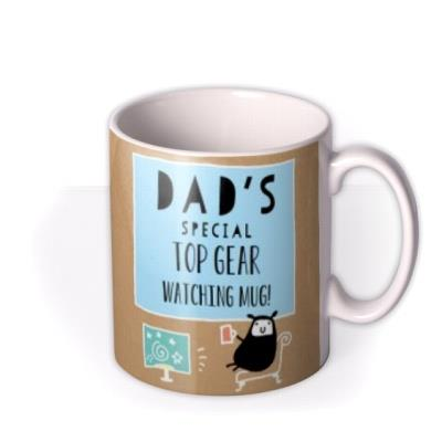 Dad's Special TV Personalised Name and Photo Mug