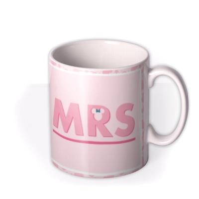 Disney Minnie Mouse Mrs Mug