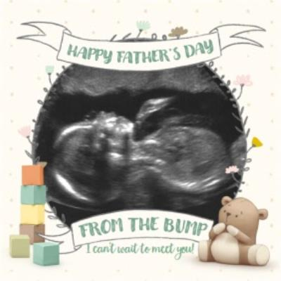 Building Blocks Happy Father's Day Card From The Bump Photo Card