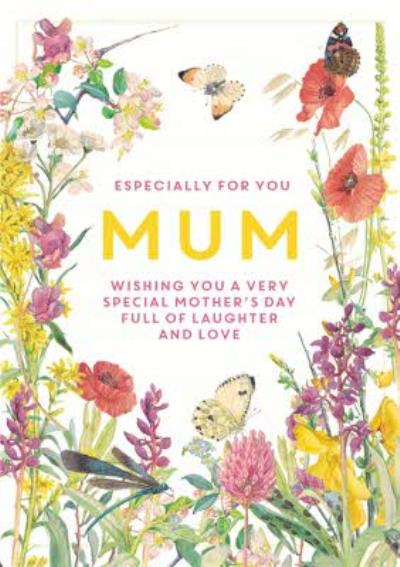 Edwardian Lady Floral Especially For You Mum Mother's Day Card