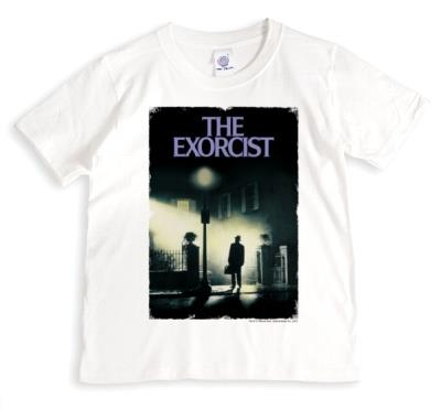 Warner Brothers The Exorcist Horror Film Poster T Shirt