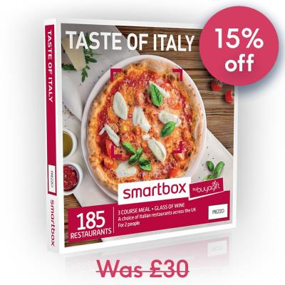 Smartbox Taste Of Italy Gift Experience