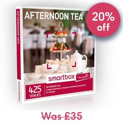 Smartbox Afternoon Tea Gift Experience