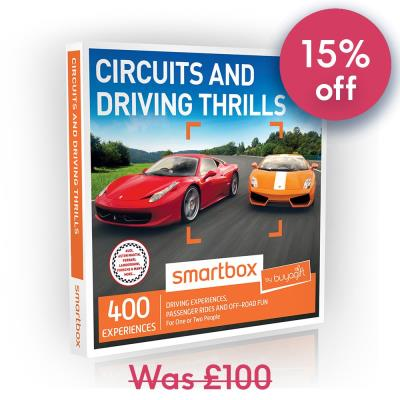 Smartbox Circuits and Driving Thrills Gift Experience