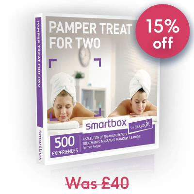 Smartbox Pamper Treat For Two Gift Experience