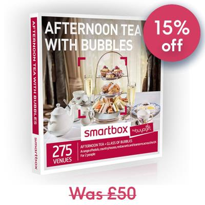 Smartbox Afternoon Tea with Bubbles Gift Experience