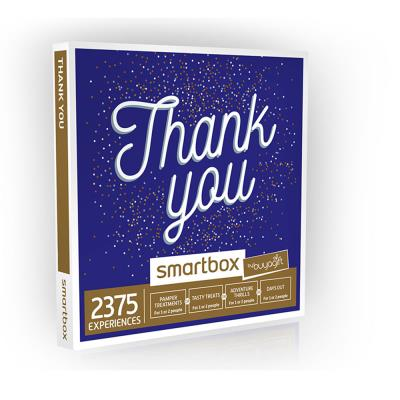 Smartbox Thank You Gift Experience