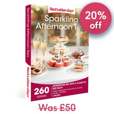 Sparkling Afternoon Tea for Two Gift Experience