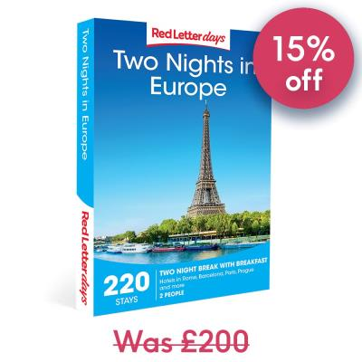 Two Nights in Europe Gift Experience