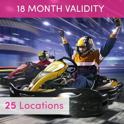 50 Lap Karting for Two Gift Experience