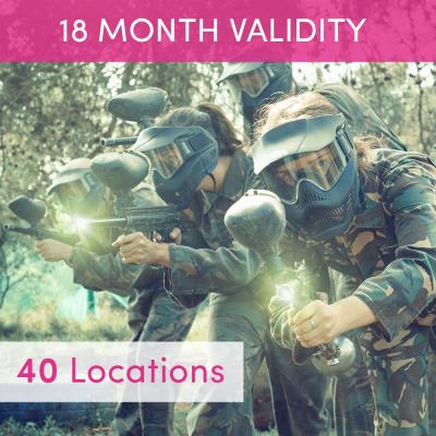 Paintballing for Four Gift Experience