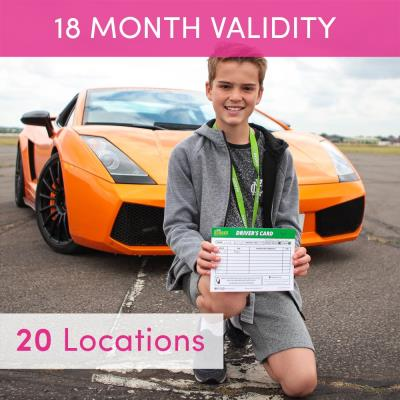 Junior Supercar Driving Experience for One
