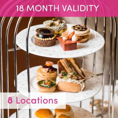 Stylish London Afternoon Tea for 2 Gift Experience