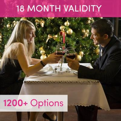 Merry Christmas Gift Experience Voucher