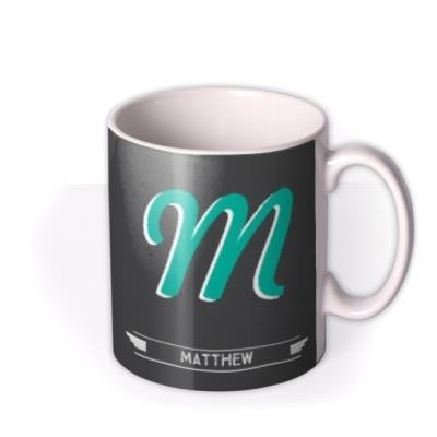 M - Alphabet - Typographic