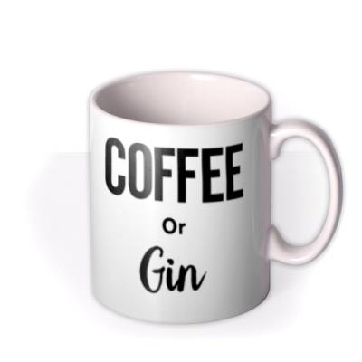 Coffee - Gin - Typographic