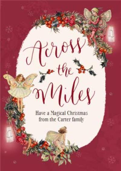 Flower Fairies Across The Miles Christmas Card