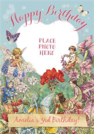 3rd Birthday Fairy Birthday Card