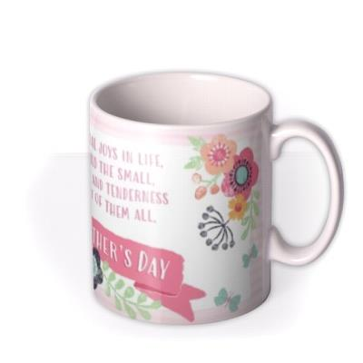 A Mother's Love Is The Great Gift Of All Pink Mug