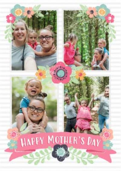 Multiple Photo Mother's Day Card
